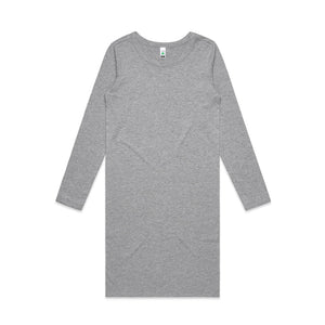 The Mika Dress | Ladies | Long Sleeve | Grey Marle