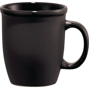 The Cafe Au Lait Ceramic Mug | Black
