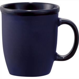 The Cafe Au Lait Ceramic Mug | Blue