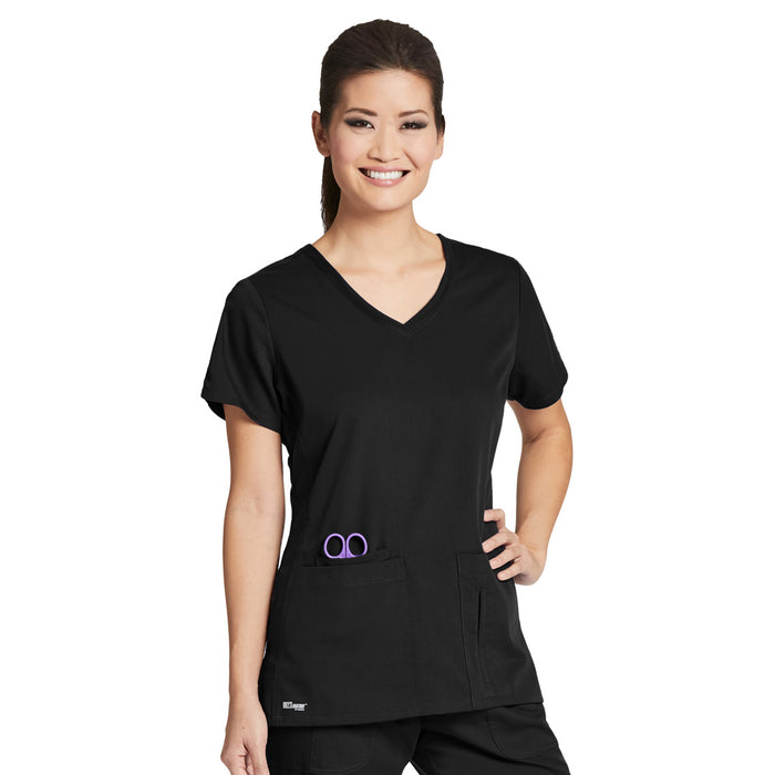 4 Pocket V Neck Top (C1) | Ladies | Greys Anatomy
