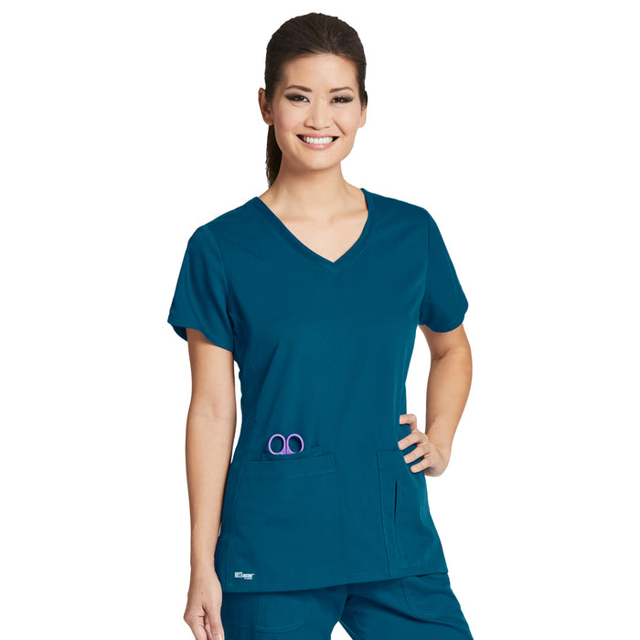 4 Pocket V Neck Top (C2) | Ladies | Greys Anatomy