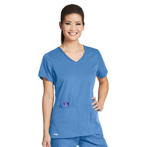 4 Pocket V Neck Top | Greys Anatomy | Ciel