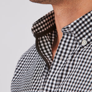 City Check Shirt | Black