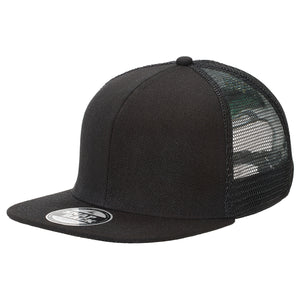 The Snapback Trucker Cap | Adults | Black