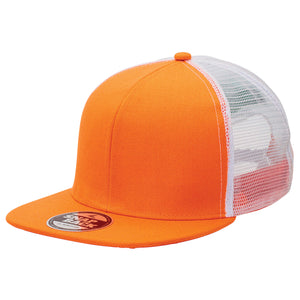 The Snapback Trucker Cap | Adults | Orange/White