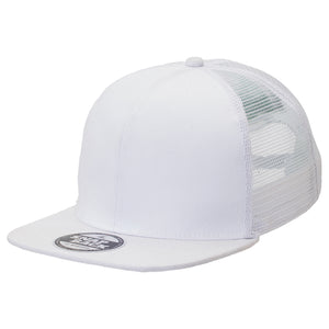 The Snapback Trucker Cap | Adults | White