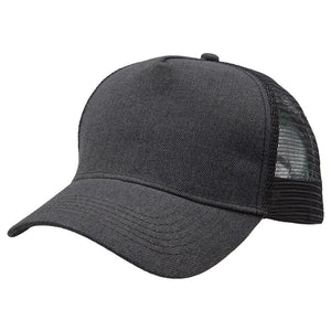 Heathered Trucker Group | Carbon Black