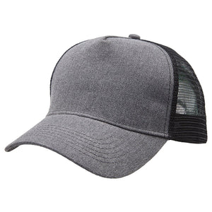 Heathered Trucker Group | Charcoal Black