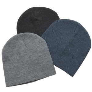 The Heather Skull Beanie | Adults