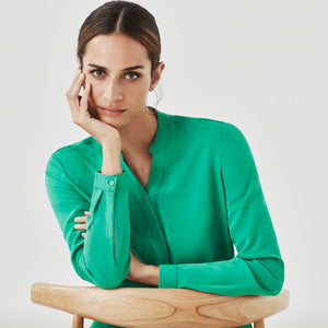 The Juliette Blouse | Green