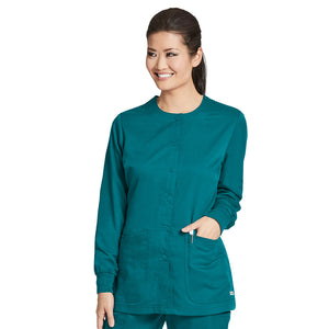 4 Pocket Warm Up Scrub Top | Greys Anatomy | Teal