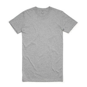The Tall Tee | Mens | Short Sleeve | Grey Marle