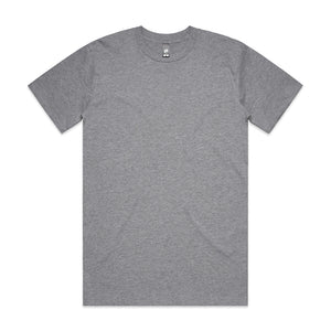 The Classic Tee | Mens | Short Sleeve | Grey Marle