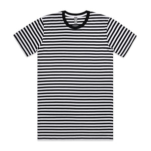 The Stripe Tee | Mens | Short Sleeve | Black/White