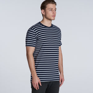 The Stripe Tee | Mens | Short Sleeve
