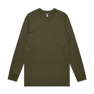 The Base Tee | Mens | Long Sleeve | Army