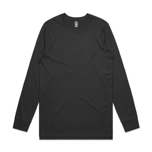 The Base Tee | Mens | Long Sleeve | Coal