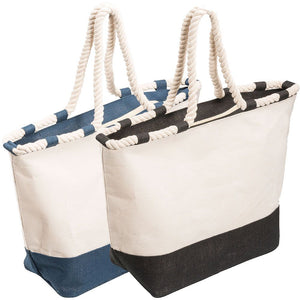 The Zippered Canvas Tote | House of Uniforms