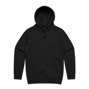 The Stencil Hood | Adults | Pullover | Black