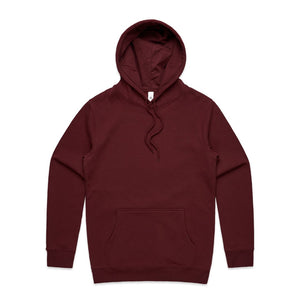 The Stencil Hood | Adults | Pullover | Burgundy