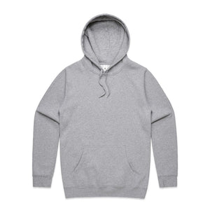 The Stencil Hood | Adults | Pullover | Grey Marle