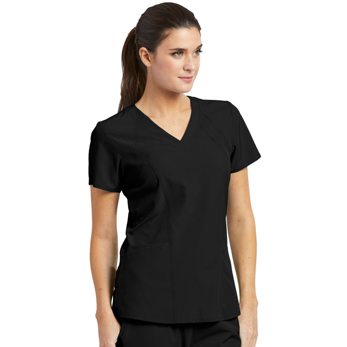 4 Pocket Racer Scrub Top (C1) | Ladies | Barco One