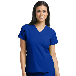 5 Pocket Pulse Scrub Top | Barco One | Cobalt