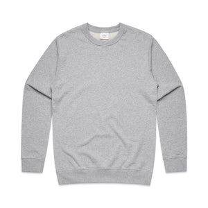The Premium Crew Jumper | Adults | Grey Marle