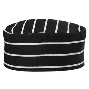 The Chefs Cap | Adults | Black/White