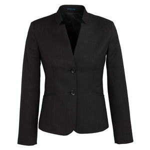 The Cool Stretch Reverse Lapel Jacket | Ladies | Black