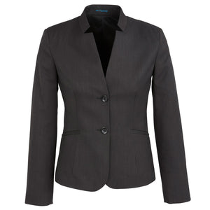 The Cool Stretch Reverse Lapel Jacket | Ladies | Charcoal