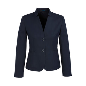 The Cool Stretch Reverse Lapel Jacket | Ladies | Navy