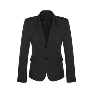 The Cool Stretch 2 Button Jacket | Ladies | Mid Length | Black