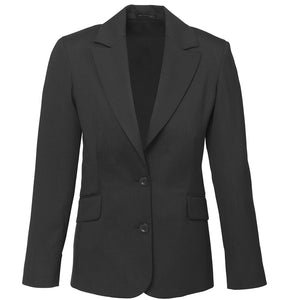 The Cool Wool Jacket | Ladies | Longline | Charcoal