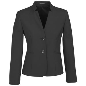 The Cool Wool Reverse Lapel Jacket | Ladies | Charcoal
