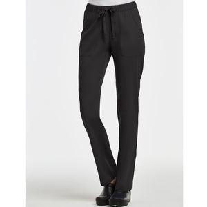 Matrix Full Elastic Waist Pant | Black