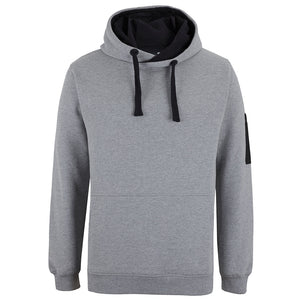 The Trade Hoodie | 13% Marle/Black