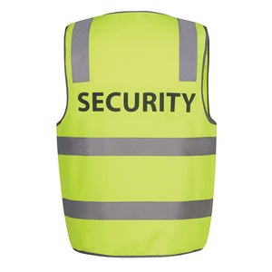 Hi Vis Printed Vest | Day Night | Security