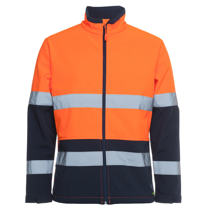 The Hi Vis Soft Shell Jacket | Shower Proof | Day Night