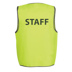 The Pre Printed Hi Vis Vest | Adults | Staff