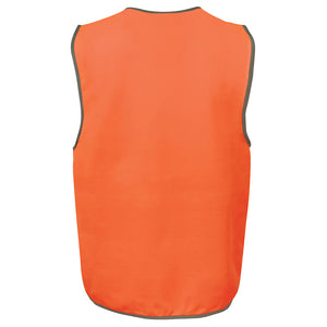 Kids Hi Vis Vest | Orange Back