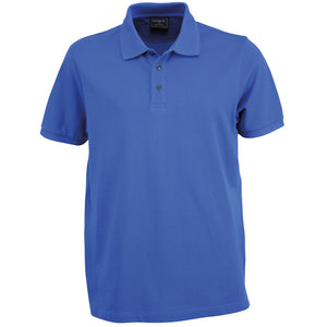 The Traverse Polo | Mens | Mid Blue