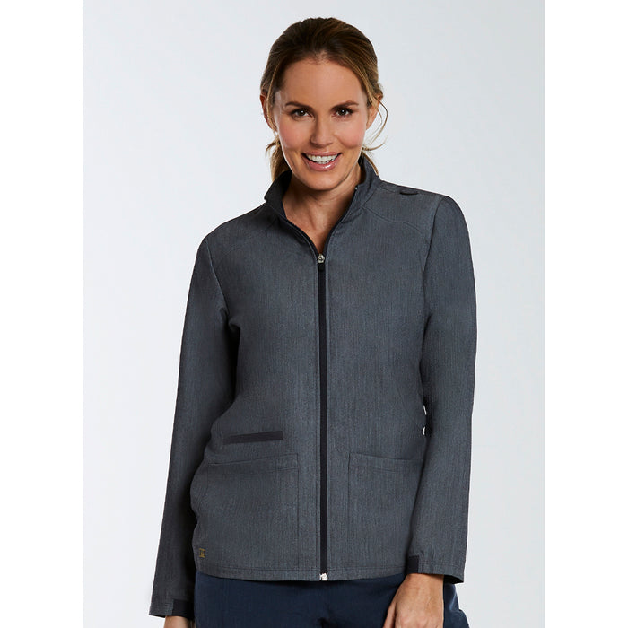 The Matrix Pro Contrast Warm Up Jacket | Ladies