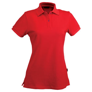 The Traverse Polo | Ladies | Red