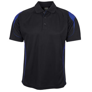 The Bell Polo | Mens | Short Sleeve | Black/Royal