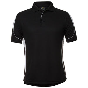 The Bell Polo | Mens | Short Sleeve | Black/White