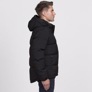 Edge Puffa Jacket | Black