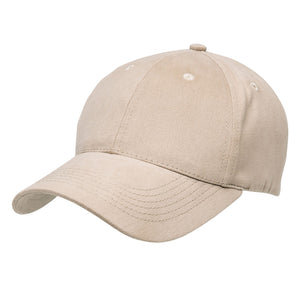 The Premium Soft Cotton Cap | Adults | Natural