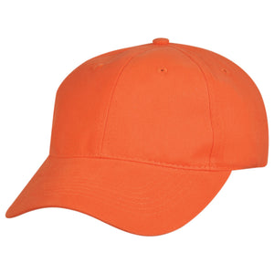 The Premium Soft Cotton Cap | Adults | Orange