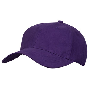 The Premium Soft Cotton Cap | Adults | Purple